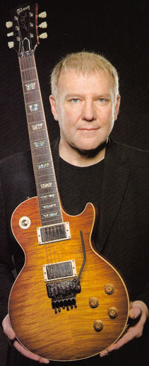 Alex Lifeson On Going Back To Les Pauls Woodytone