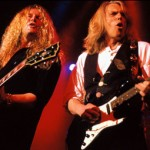 Thin Lizzy: John Sykes and Scott Gorham Info