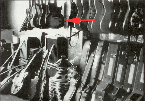 Ed still has that guitar!