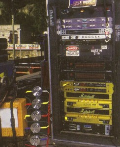 Here's the 1996 rig (Guitar Player photo - click to see bigger).