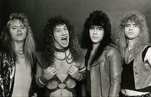 An '80s promo shot of the band.