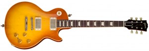Here's Warren's signature Les Paul (click to see bigger – Gibson.com photo).