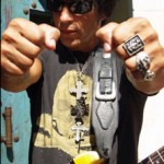 George Lynch's Woody Smoke & Mirrors Gear