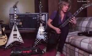 Randy and his guitars (click to see it WAY bigger).