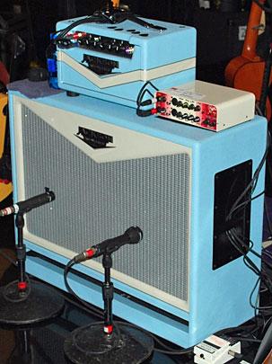 Here's Robbie's Jackson ampworks amp (JA photo).