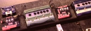 The two pedals to the left of the Line6 pedals – know what they are? (Click to see it way bigger.)