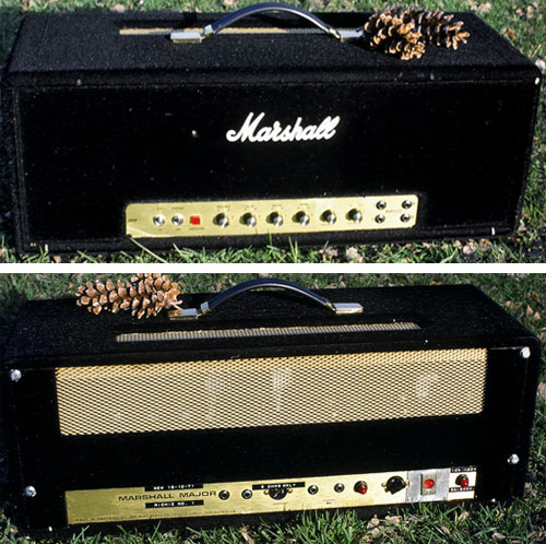 Blackmore's modded #1 Marshall Major (dawksound.com photo).