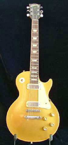 Jeff's '69 Gold Top Deluxe (Jeff Carlisi photo).