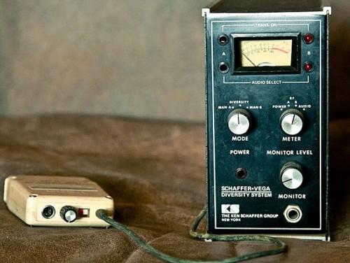Here's the Schaffer Vega Diversity wireless (photo: solodallas.net).